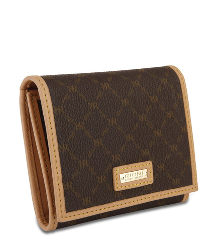 Tri-Fold Wallet - Sadie in Brown