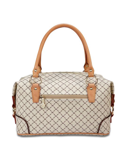 The Boston Bag - Felicity in Natural