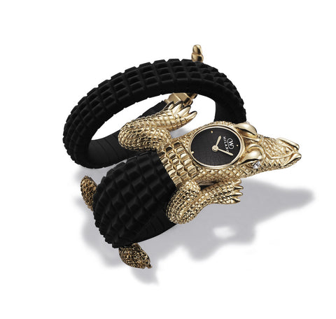 CROCO Black/Gold