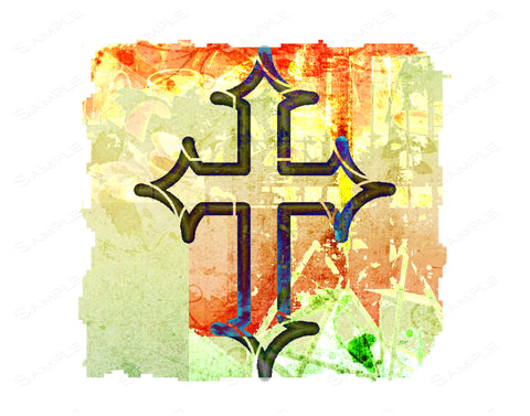 Celtic Cross Wall Art Print Celtic Cross Home Decor 8 x 10 Art Print