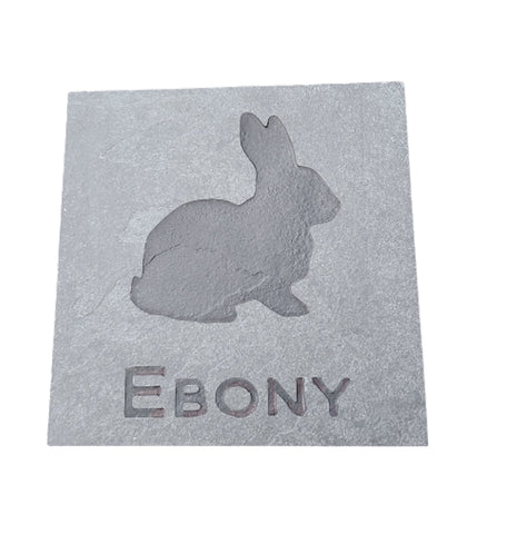Rabbit Memorial Gravestone Marker Rabbit Memorial Stone