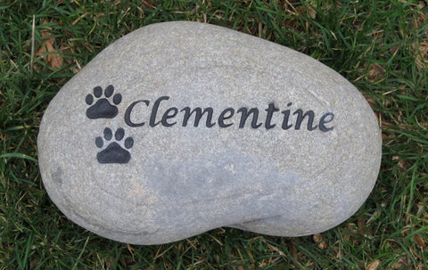 PERSONALIZED Pet Memorial Grave Stone Headstone for Dog or Cat 8-9 Inches Memorial Burial Gravestone Marker - Pet Memorial Stones, Personalized Pet Stone Memorial Grave Marker, Dog Memorial, Cat Memorials, Pet Gravestone Markers, Headstone
