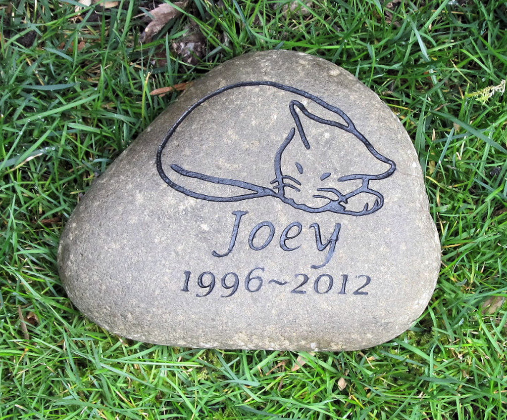 of garden personalized image memorial thick pet duty heavy fullxfull stone stones il