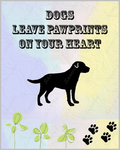 Personalized Labrador Retriever Dog Labrador Retriever 8 X 10 Print Labrador Retriever Pet Gifts