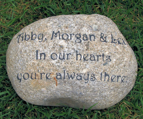 Personalized Memorial Stone Engraved Memorial for a Loved One Lost 10-11 Inch Memorial Garden Stone Maker - Pet Memorial Stones, Personalized Pet Stone Memorial Grave Marker, Dog Memorial, Cat Memorials, Pet Gravestone Markers, Headstone