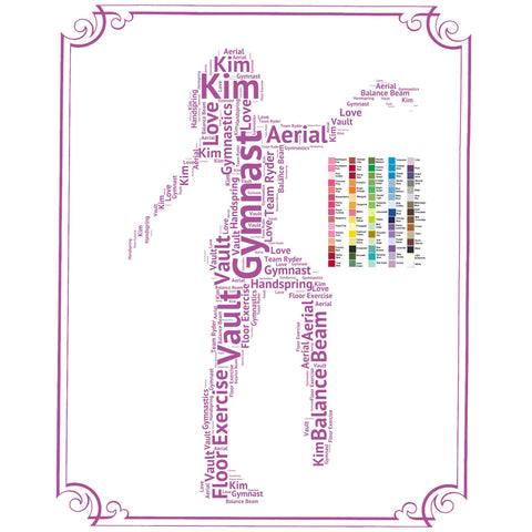 PERSONALIZED Gymnastics Gift Gymnast Gift Ideas Gymnast Gift Ideas Gymnastics Gifts 8 x 10 Print
