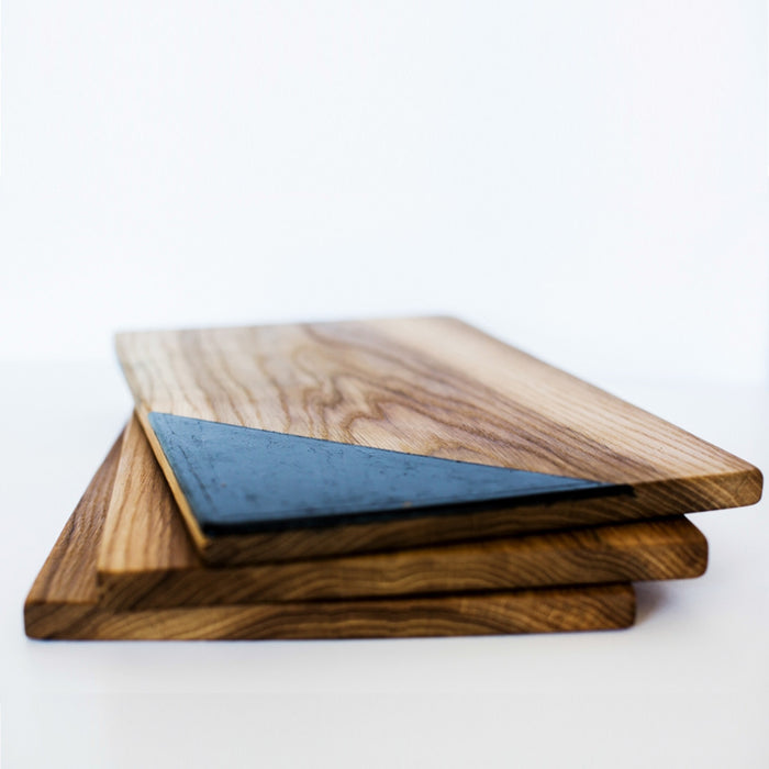 Recycled Oak Barrel Cutting Board | Remade By Shop