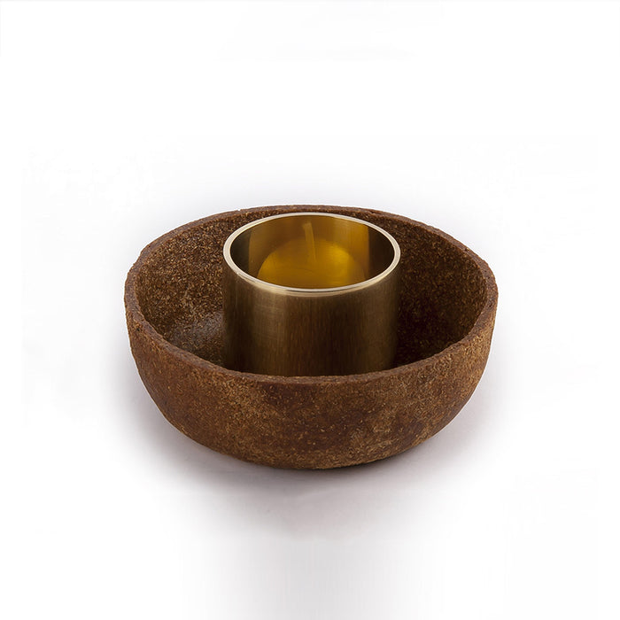 Organic Tree Leave Candle Holder | Remade By Shop