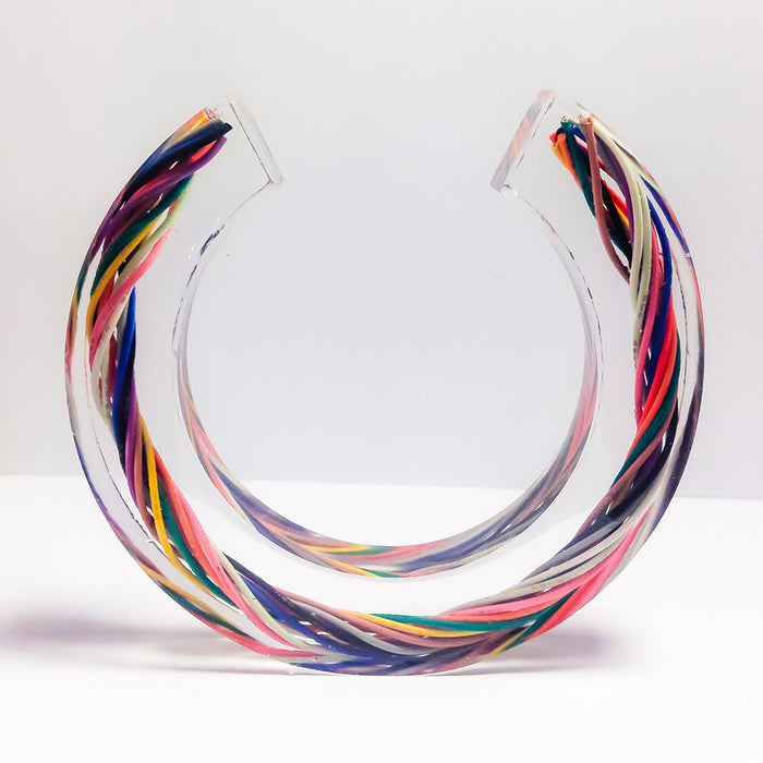Wire Bangle by Celine Strömbäck | Remade By Shop