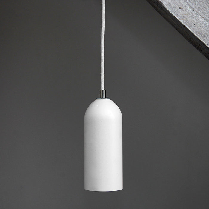 Upcycled lamps from fire extinguisher - white. Remade By Werkwoll by Lena Peter