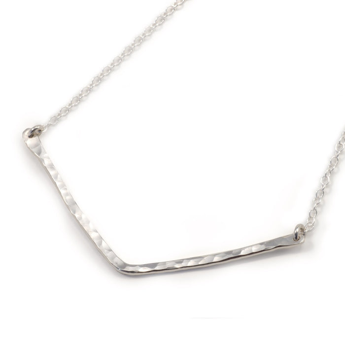 Recycled Silver Necklace. Remade By Mnop Jewelry