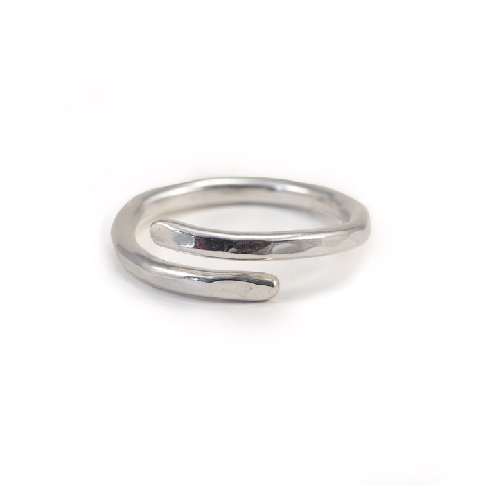 Minimalist Recycled Ring. Remade By Mnop Jewelry