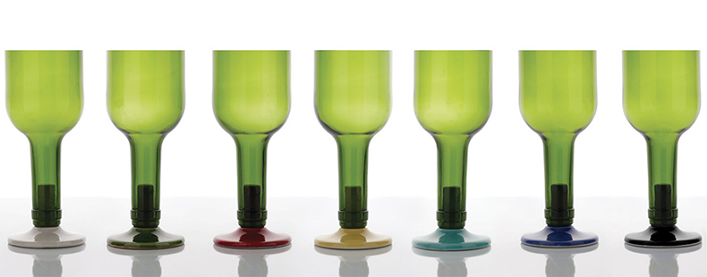 Upcycled Glass From Wine Bottle By Os Italianos | Remade By Shop