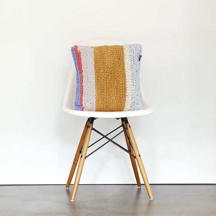 Cushion Square - Handmade Recycled Cotton Yarn