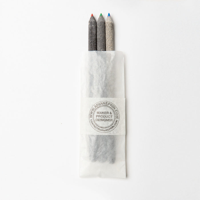 Handmade Pens from Industry Waste by Ariane Prin || Remade By Shop