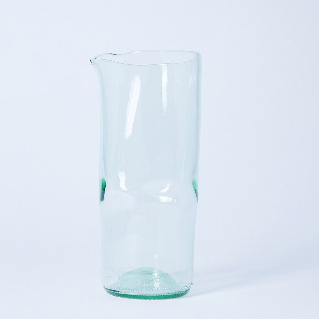 Upcycled Carafe from Wine Bottle | Remade By Shop