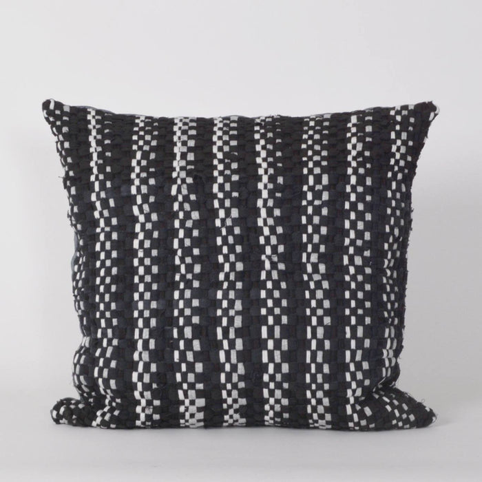 Rag Cushion - Black