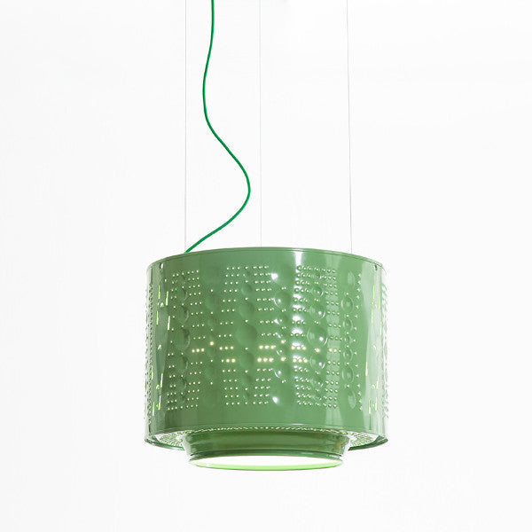 Upcycled Washing Machine Drum Lamp by Willem Heeffer || Remade By Shop