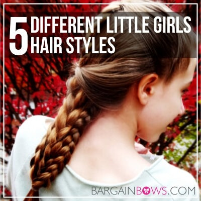 5 Different Little Girls Hair Styles
