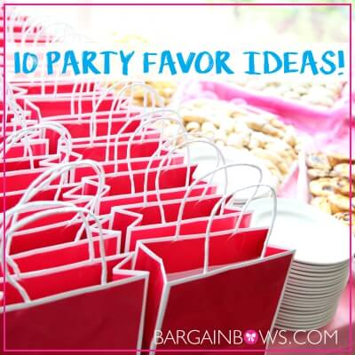 10 Awesome Party Favor Ideas Bargain Bows