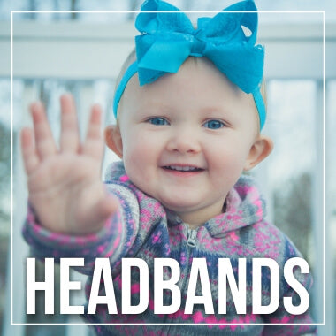 Headband and Bow Occasions for Newborn Babies and Girls
