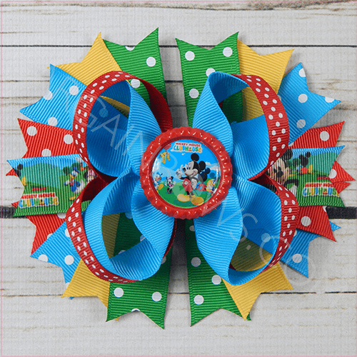 973eca6a7 Mickey Mouse Clubhouse Boutique Bow – Bargain Bows