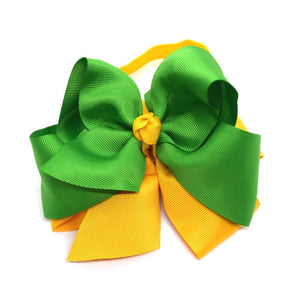 Green Gold Double Color Headband