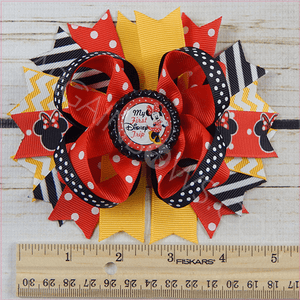 First Disney Trip Boutique Bow - BargainBows