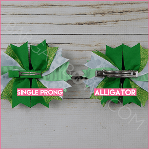 The Luck of the Mouse Boutique Bow (Single Prong, Alligator Clip)