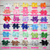 Headband Double Stacked 4 inch Solid Color Bundle - BargainBows
