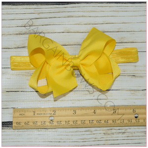 Headband 4 inch Solid Color Bundle Classy Lady - BargainBows