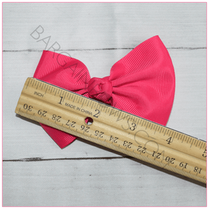 Classic Style Bow (Alligator Clip) in 4 inch size