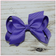 4 inch Solid Color Hair Bow -Alligator Clip, hair bows BargainBows