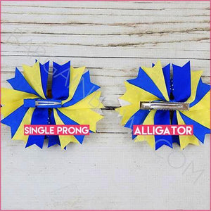 Donald Duck Boutique Bow (Single Prong, Alligator Clip) - Bargain Bows