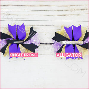 Evil Queen Boutique Bow (Alligator, Single Prong)