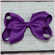 6 inch Solid Color Hair Bow (Alligator Clip) for Sassy Baby Girl