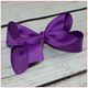 6 inch Solid Color Hair Bow (Alligator Clip) for Sassy Girl