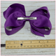 6 inch Solid Color Hair Bow (Alligator Clip Hair Bows) Collection - Bargain Bows