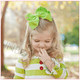6 inch Solid Color Cute Hair Bow (Barrette Clip) for Baby Girls