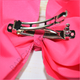 6 inch Solid Color Hair Bow Bundle (Barrette Clip)- Bargain Bows