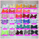 6 inch Solid Color Hair Bow (Alligator Clip) Bundle Classy Lady