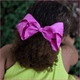 6 inch Rhinestone (Alligator Clip) Hair Bow for Babies