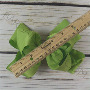 6-inch Oversize 30 pc Hair Bow Bundle on Barrette clip: Simply Sweet