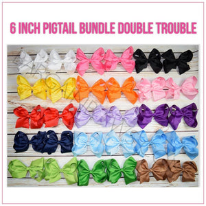 Pigtail 6 inch Bundle Double Trouble