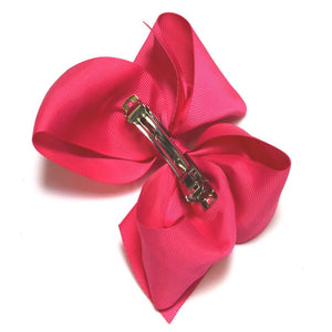6-inch French Barrette clip | 30 pc Hair Bow Bundle | Classy Lady