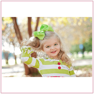 6 inch Solid Color Cute Hair Bow Sassy Girl