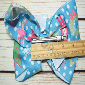 7 inch Nutcracker Bow