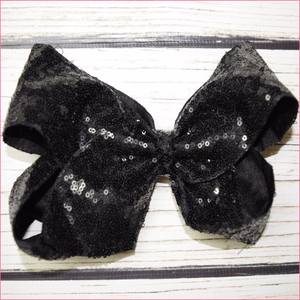 7 inch Sequin Bow, hair bows BargainBows