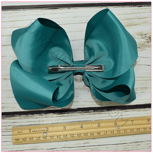 8 inch Basic Bundle Classy Lady Hair Bows -Alligator Clip, hair bows BargainBows