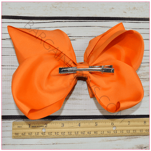 Double Stacked 8 Inch Simply Sweet Hair Bow Bundle -Alligator Clip, hair bows BargainBows